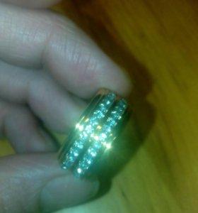 Кольцо позолотка