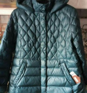 Новая Зимняя, демисезонная куртка пуховик  56 раз.