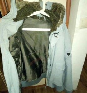 Голубая куртка (осень,зима )