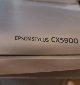 МФУ EPSON CX5900 на запчасти
