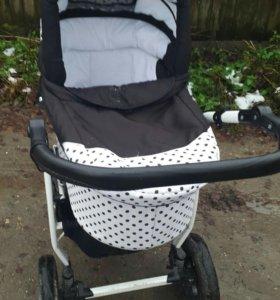 Детские коляска люлька 3 в 1