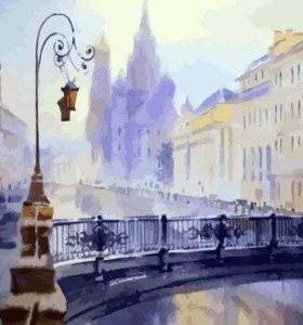 Картина по номерам Итальянский мост