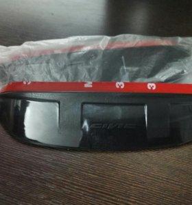 Новые козырьки на зеркала заднего вида Honda Civic