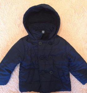 Тёплая куртка весна / осень
