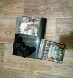 Ps 3 с 2 играми (GTA 5,THE LAST OF US)