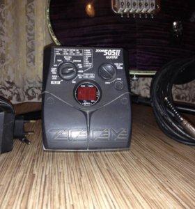 """Гитарный процессор"""" Zoom 505ll """" с Блоком питания"""