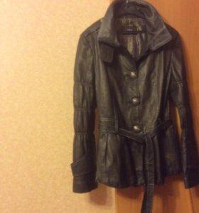 Куртка женская натуральная кожа новая р.44(S)