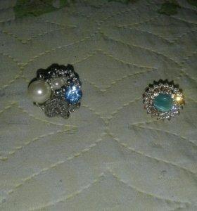 Бижутерия новая кольца