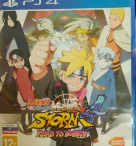 Диск Naruto Ninja Storm 4 + Road to Boruto для PS4
