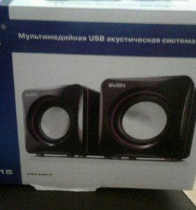 Мультимедийная USB акустич . Система 2.0