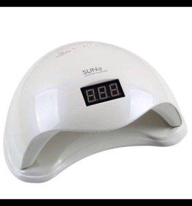 Лампа led/UV lamp гибрид новая 48 ВТ