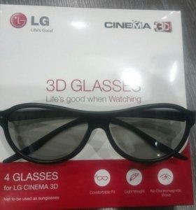 3D очки LG AG-F310 (x4)
