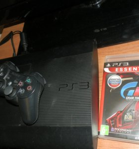 Sony Playstation 3 super slim 500gb+Gran Turismo 5