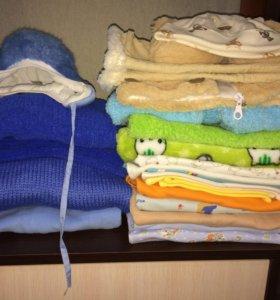 Пакет одежды на мальчика (0-4 мес.)