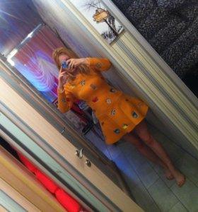 платье креативненькое неопрен