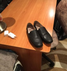 Детские ботинки чёрные