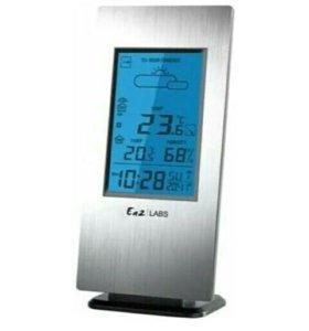 Тонкая погодная станция с измерением температуры