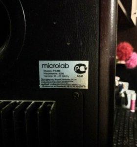 Microlab акустическая система.