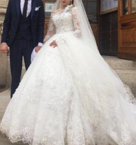 Свадебное и вечерние платье