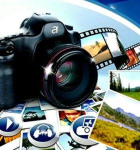 Создание фильма из фото и видео