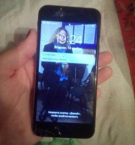 Айфон 6 на 16г(на запчасти)