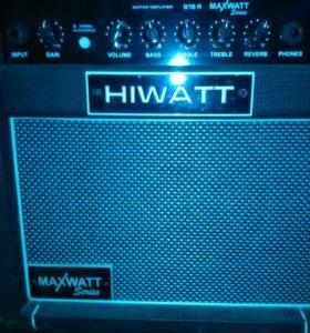 Комбик hiwatt, maxwatt