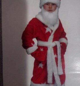 Новогодний костюм детский Дед Мороз