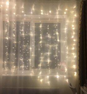 Гирлянда новогодняя 3*2m 320 ламп
