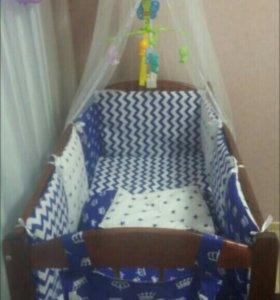 детское постельное белье.