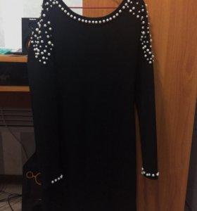 Платье чёрное🔙