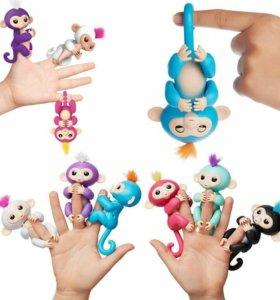 Хит! Интерактивная обезьянка Fingerlings