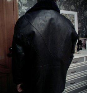 Куртка мужская овчина покрытая хромом