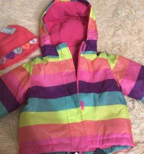 Куртка утеплённая 3 в 1