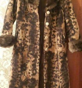 пальто женское зимнее теплое