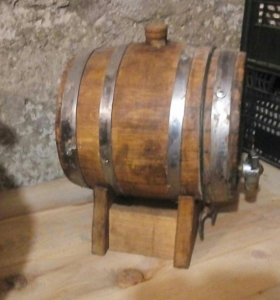 Бочка дубовая на 3 литра