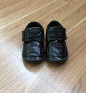 Туфли для мальчика 21 р