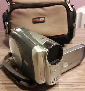 Видеокамера Canon на мини DVD дисках