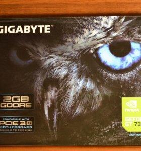 Видеокарта Gigabyte GT 730, GDDR5, 2 Gb