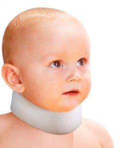 шейный бандаж для новорожденного