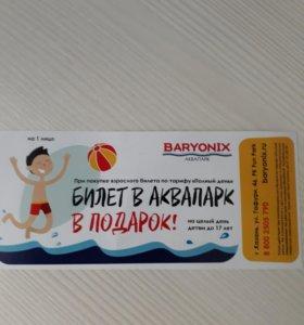 Билет за шоколадку.