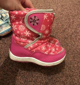 Зима ботинки 25р