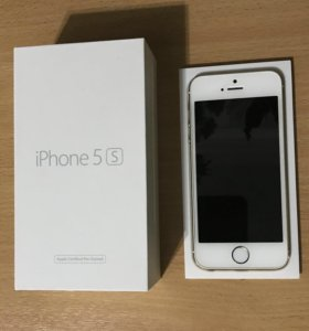Продаю iPhone 5s, Gold, 16GB