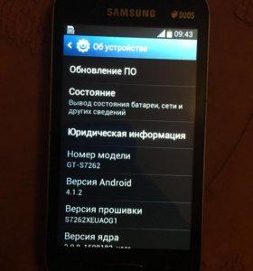 Samsung s7262 Android смартфон