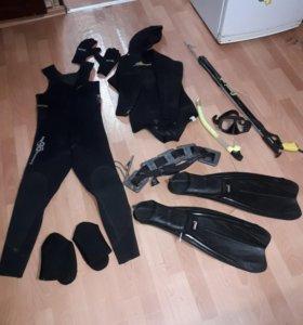 Комплект для подводной охоты