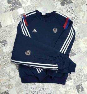 ✔✅🙋 спортивный молодежный костюм Adidas..зимний