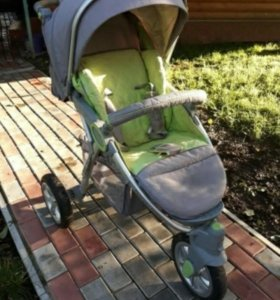 Прогулочная, всесезонная коляска happy baby