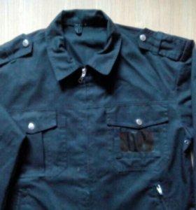 Куртка для охраника черная