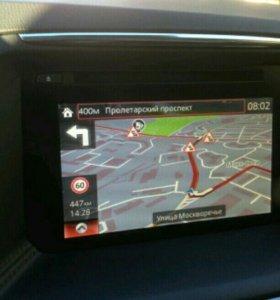 Навигация на Mazda cx5, Mazda 6