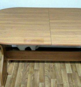 Обеденный раздвижной стол