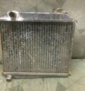 Радиатор охлаждения двигателя м-2140,412